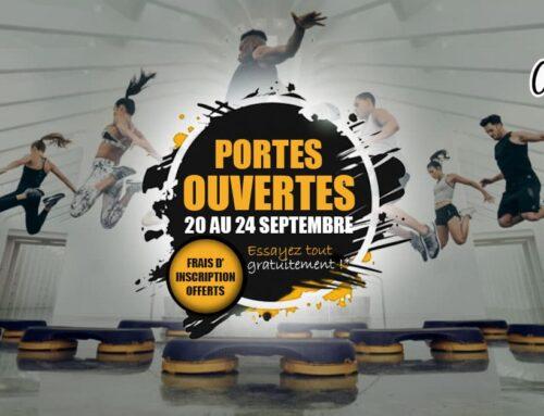 PORTES OUVERTES DU 20 AU 24 SEPTEMBRE 2021
